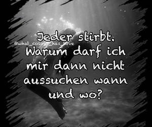 deutsch, sad, and trauer image