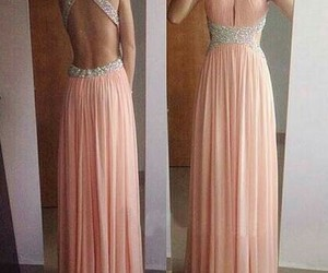 prom dress, dress, and Prom image