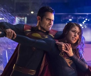 Supergirl and superman image