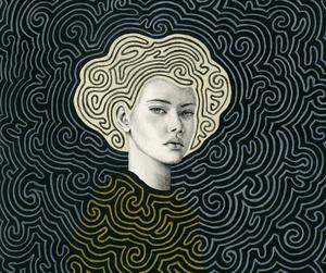 art, maze, and pattern image