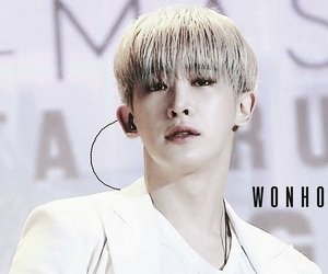 k-pop, lee, and wonho image