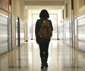 13 reasons why, hannah, and school image