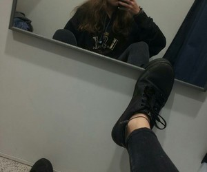 black, photo, and shoes image