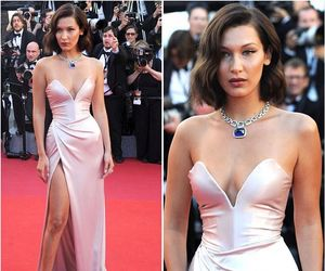 cannes and bella hadid image