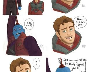 art, Marvel, and gotg image