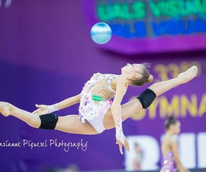 ball, rhytmic gymnastic, and soldatova image