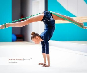 inspiration, rhytmic gymnastic, and training image