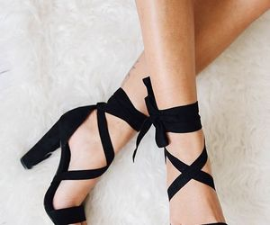 shoes, black, and fashion image