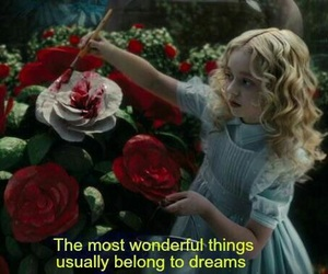 alice in wonderland, dreams, and alice image