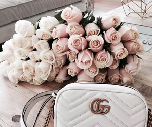 bag, blooms, and bouquet image