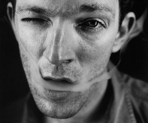 Vincent Cassel and smoke image