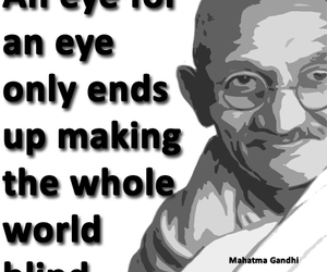 famous people, mahatma gandhi, and famous people quotes image