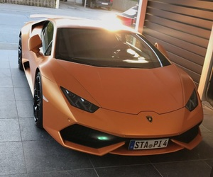 lambo, Lamborghini, and orange image