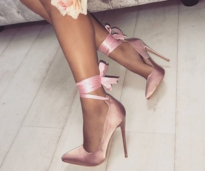 fashion, pretty, and heel image