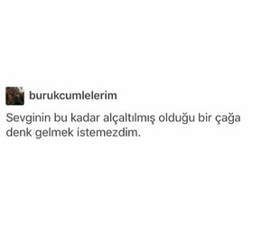 sözler, türkçe, and sevgi image