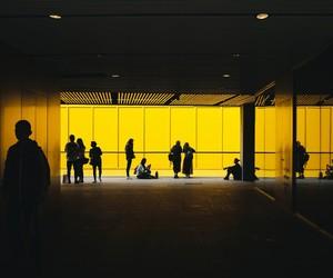 yellow and untedphoto image