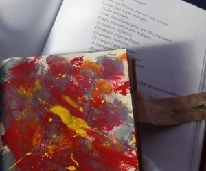 art, colors, and abstract image