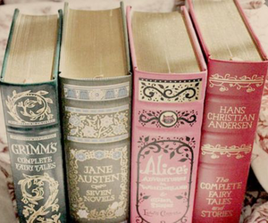 book, vintage, and grimm image
