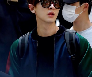 airport, chanyeol, and exo image