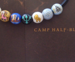 percy jackson, camp half blood, and annabeth chase image