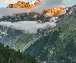 nature, switzerland, and mountains image