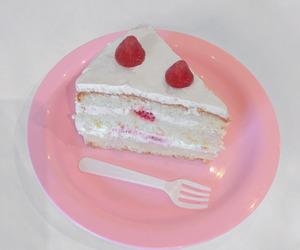 cake, pink, and pastel image