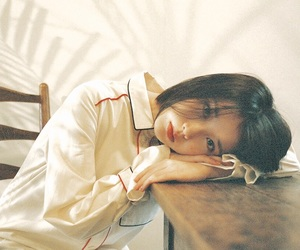 iu, korean, and palette image