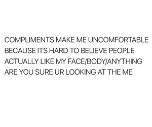 compliments, fat, and funny image