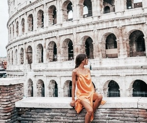 travel, rome, and roma image