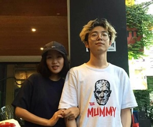 just music, giriboy, and hong siyoung image