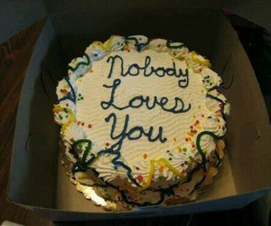 cake, nobody, and hate image