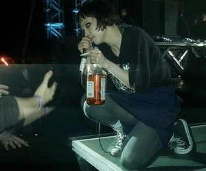 Alice Glass, Crystal Castles, and alternative image