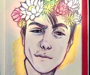 boy, dibujos, and draw image