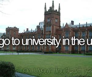 university, before i die, and uk image