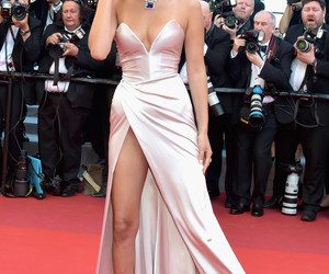 bella hadid and cannes image