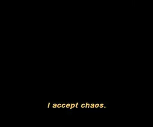 90s, black, and chaos image