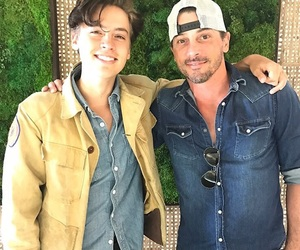 cole sprouse, riverdale, and skeet ulrich image
