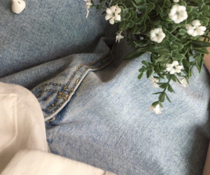 aesthetic, pale, and denim image