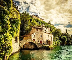beautiful, italy, and como image