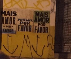 brasil, graffiti, and love image