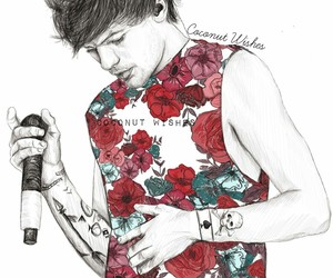draw, fan art, and louis image