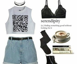 grunge, outfits, and ropa image