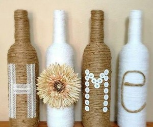 decor, diy, and flower image
