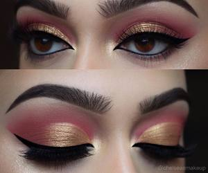 makeup, classy, and eyeliner image
