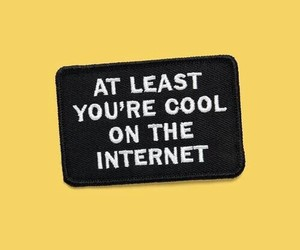 yellow, internet, and cool image