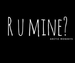 arctic monkeys, black, and dark image