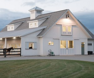architecture, barn, and country image