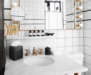 interior, bathroom, and room image
