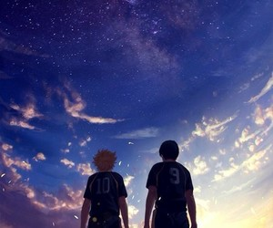 haikyuu, anime, and hinata image