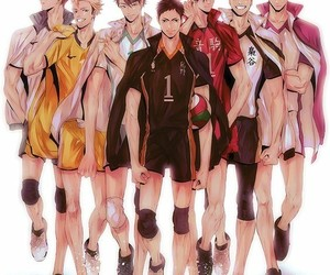 anime, haikyuu, and captain image